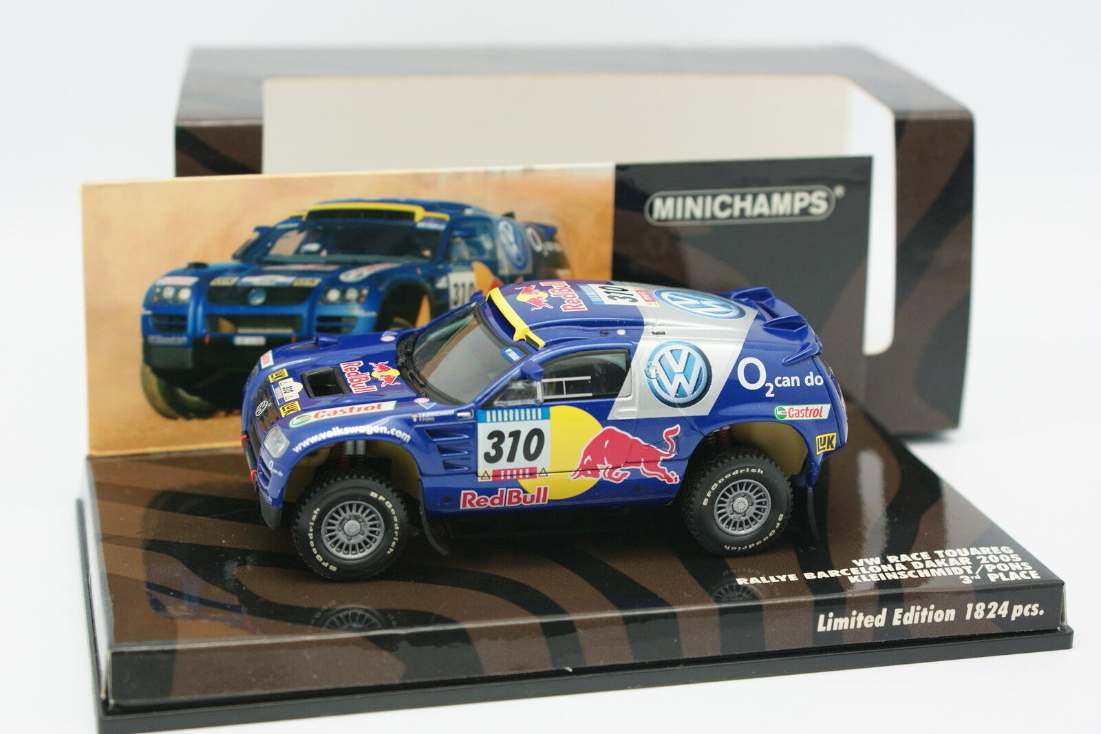 Minichamps 1 43 - VW Race Touareg N310 Paris Dakar 2005
