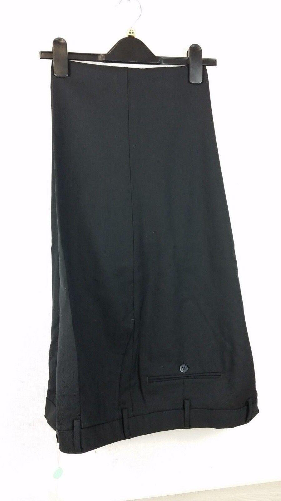 Mens Trousers SUPER 100's 100% WOOL   Größe 58 ( W 38in ) B331-11