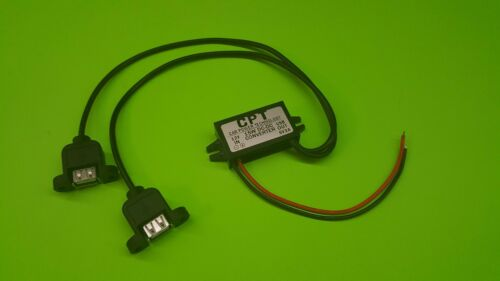 -- Auto DC to DC converter 12 volt 5 volt -- Dual USB converter adapter