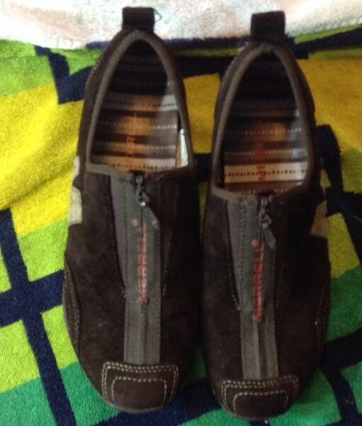 Women's Merrell brown mesh sport sneakers Size US 7
