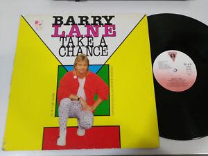 "Barry Lane - Take A Chance Maxi LP vinyl Vinyl 12 "" Spanisch Edition G VG"