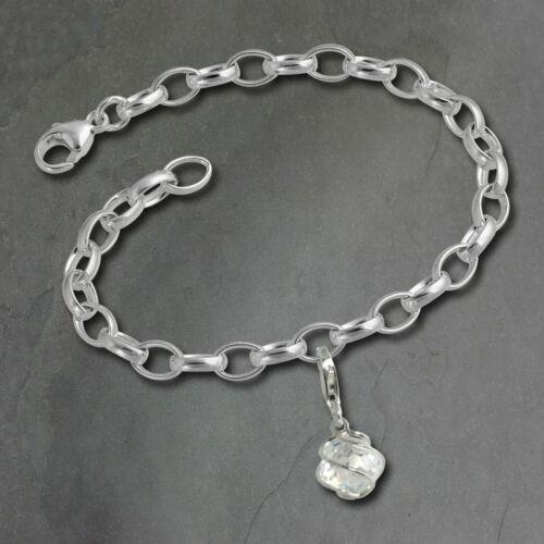 925 Charms Kugel Silber Armband Anhänger Set FCA104 imppac