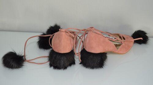 Fell Ballerina Slipper Bomel Rosa Pumps 38 Leather Gr Fellabsatz Zara Neu EwOzB8qT