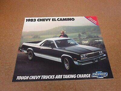 1982 Chevy EL Camino SS//Conquista//Royal Knight Brochure