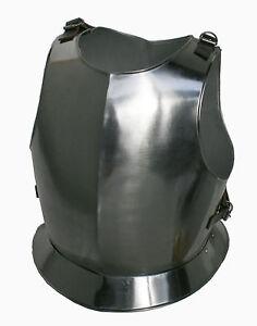 Brustpanzer-Brustplatte-Harnisch-Kuerassier-Ritter-Ruestung-Helm-Reenactment-R203