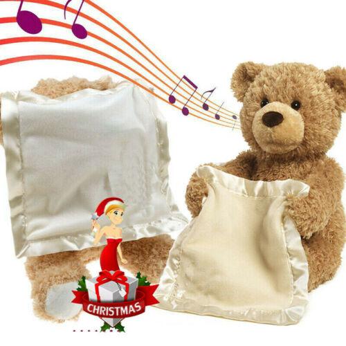 Bambini giocano Soft Toy Peek A Boo Teddy Bear Bambino Peluche Regalo di natale