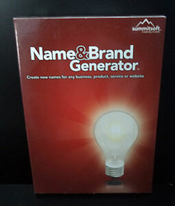 Name-amp-Brand-Generator-WIN-2000-XP-VISTA-NIB-Summitsoft-Windows-NEW