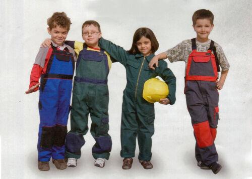 # enfants Revêtu Moleskine Latzhose travail Latzhose spielhose Overall Kids