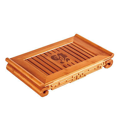 Blessings Bamboo Gongfu Tea Table Serving Tray TP063Y Can Serve for 3-4 people