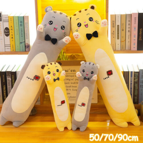 Long Cat Plush Toys Animal Creative Cute Soft Pillow Sleep Stuffed Sleeping Gift