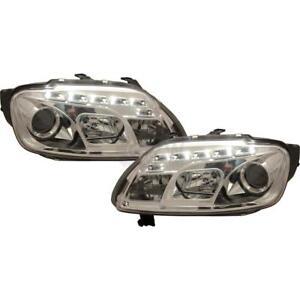 Scheinwerfer-Set-VW-Touran-Caddy-LED-klarglas-chrom-Dragon-Lights-SONAR-VRD