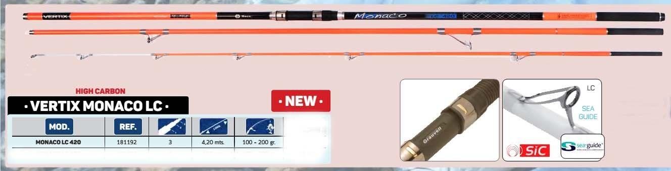 greyvell greenix MONACO LC 450 Surf   Beach Rod - 15FT