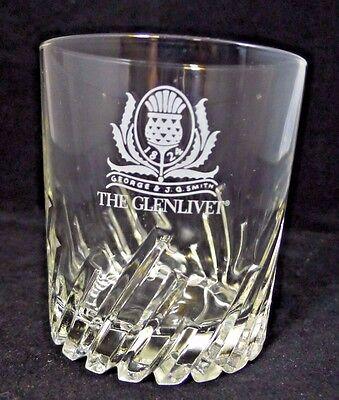 Set of 4 NEW The GLENLIVET Scotch Irish Whisky Rock Glasses