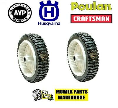 Poulan Mower 180773 532180773 Two Front Drive Wheels Fits Husqvarna Craftsman