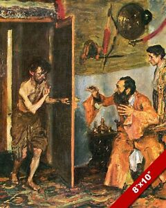 RETURN OF THE LOST PRODIGAL SON PAINTING CHRISTIAN BIBLE ...