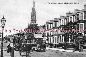LO-270-Seven-Sisters-Road-Finsbury-Park-London-6x4-Photo