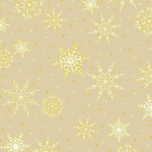 Christmas Snow Flakes Jolly Old St Nick 100/% cotton fabric by the yard