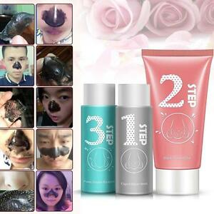 Pig-nose-Mask-Clear-Black-Head-remover-3-Step-Kit-Korean-Cosmetic-Facial-Pore-0