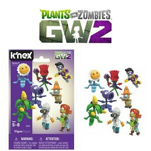 Knex Plants Vs Zombies Series 5 - One Blind Bag Mystery Buildable Figure - NEW