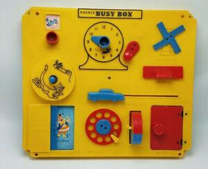 Vintage Kohner Busy Box Crib Playpen Wall Toy No 505 Kohner Bros Ebay