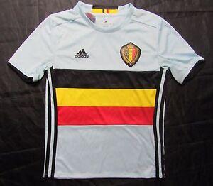 fe28c9139 Belgium België Belgique away shirt ADIDAS EURO 2016 2017 boy S 9-10 ...