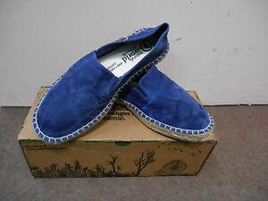 Details zu Natural World Herren Espadrilles Schuhe Camping Yute Enzym 325E 614 Azul Enz.