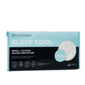 MiniJumbuk-Sleep-Cool-Standard-Pillow-Protector-100-Australian-Made
