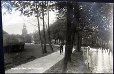 GERMANY~POLAND~1927 BELGARD A. PERS. ~ BIALOGARD ~ AM POETENSTEIG ~ RPPC