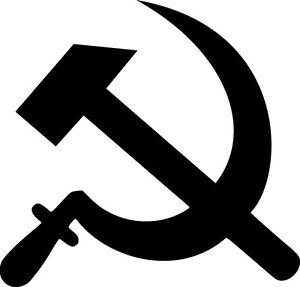 Hammer And Sickle Vinyl Sticker Decal Communist People Choose Size