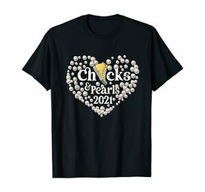 Chucks-And-Pearls-Heart-Valentine-039-s-African-American-Gifts-womens-T-Shirt