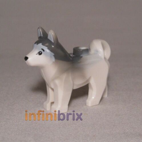 60034 60062 Lego Husky Dog from sets 60036 70734 60097 10686 BRAND NEW