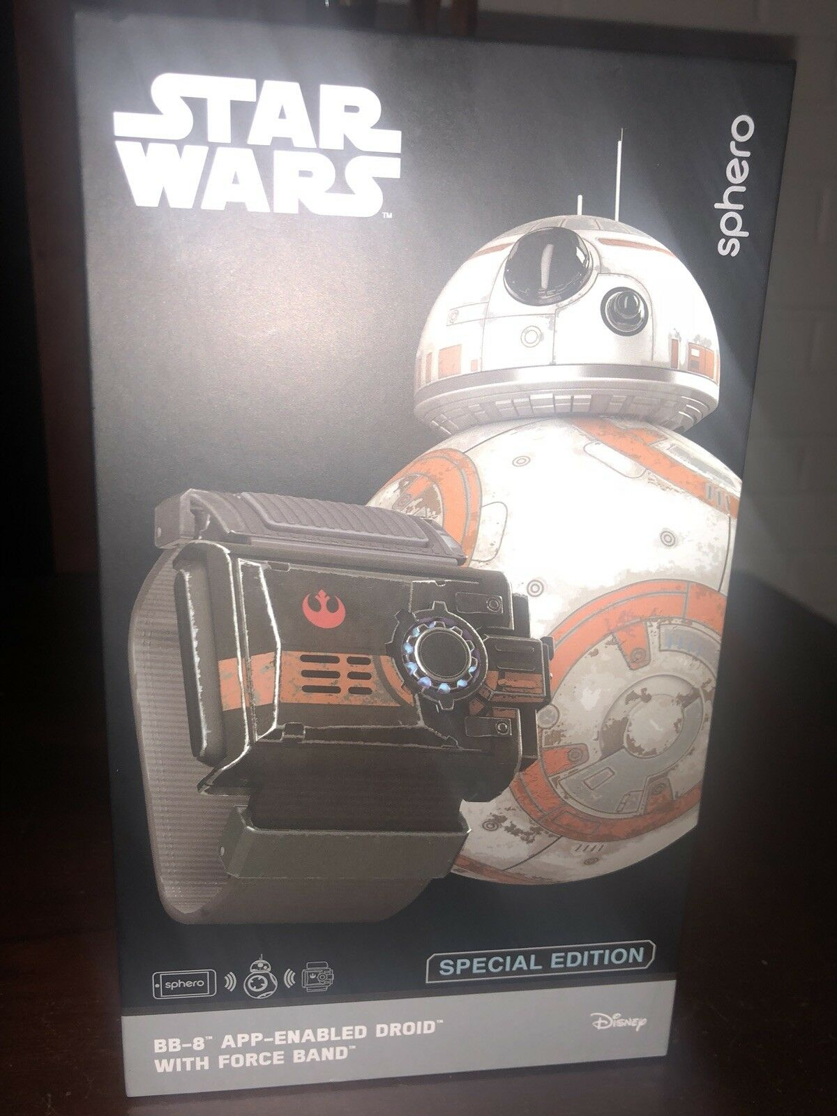 Sphero STAR WARS BB8 BB8 BB8 with Force Band and Special Edition Collector Tin b28e5b