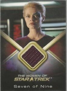 Women-of-Star-Trek-WCC8-Jeri-Ryan-034-Seven-of-Nine-034-Costume-Card
