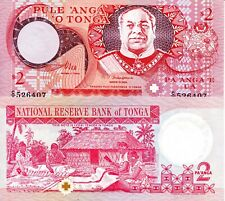 TONGA 5 Pa/'anga Banknote World Paper Money UNC Currency Pick p45 2015 Bill Note