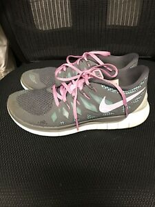Details about Nike Free 5.0 Womens Athletic Shoes Size 9