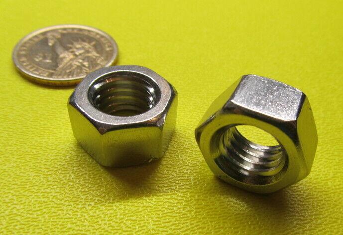 """18-8 Stainless Steel Hex Nut RH 300 pcs 6-32 x 1//4/"""" W x 3//32/"""" H"""