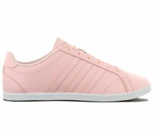 Details about Adidas Vs Coneo QT W Women's Sneaker B74554 Pink Casual Shoes Trainers New