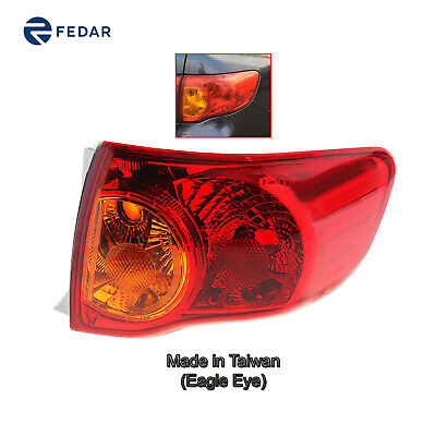 For 2009-2010 Toyota Corolla Passenger Outer Tail Light Taillight Lamp US BUILT