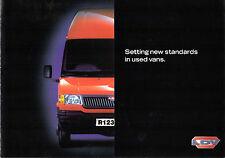 LDV Vanguard Approved Used Vans Scheme c1998 UK Market Foldout Sales Brochure