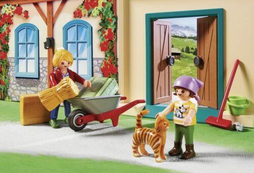 Enfant Garçon Fille jeu jouet NEUF PLAYMOBIL La ferme transportable 4897