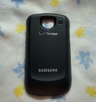 Samsung Brightside Sch-u380 Extended Battery Door Cover Black