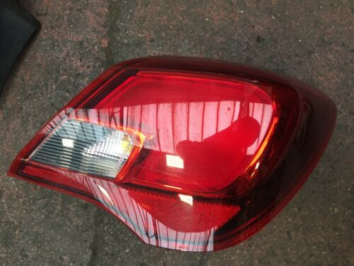 VAUXHALL CORSA E 3DR 14-17 DRIVER SIDE REAR LIGHT 13428456 460034366