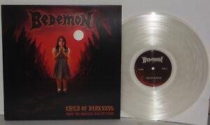 BEDEMON-Child-Of-Darkness-LP-Clear-Vinyl-Ltd-Pentagram-Bobby-Liebling-Doom-Metal