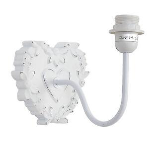 Wandlampe-Wandleuchte-Lampe-Herz-Landhaus-Vintage-Shabby-weiss-Clayre-amp-Eef