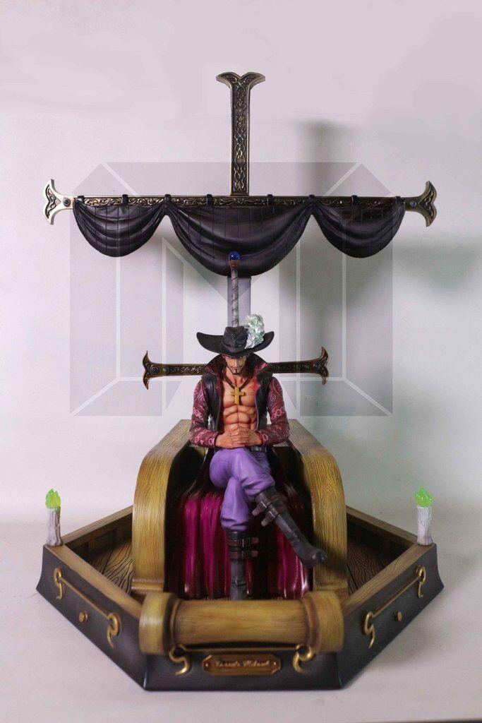 Mihawk One Piece scala 1 8  resin statue Model Palace