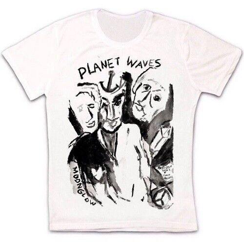 Bob Dylan Planet Waves Rock Folk Blues Retro Vintage Hipster Unisex T Shirt 1412