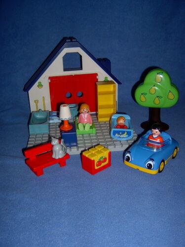 Hausfront *# großes Hausset Playmobil 1 2 3 Hauseinrichtung große Platte
