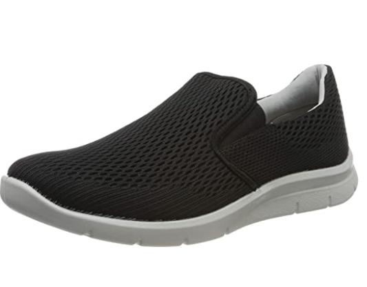 Hotter Mens Comet Trainers Shoes Black