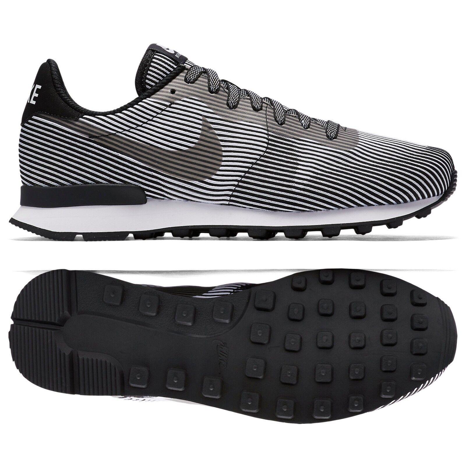 Nike Internationalist Knit Jacquard Moire KJCRD M QS 829344-001 Black Men shoes