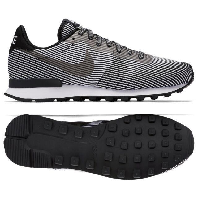 buy popular 8a340 6c68d Nike Internationalist Knit Jacquard Moire KJCRD M QS 829344-001 Black Men  Shoes